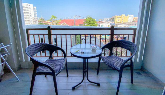 ハイシア ホアヒン ホテル(Hisea Huahin Hotel)の客室バルコニー