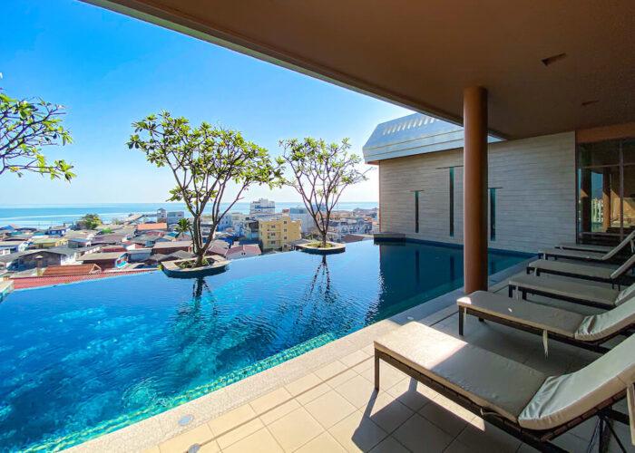 ハイシア ホアヒン ホテル(Hisea Huahin Hotel)のプール1