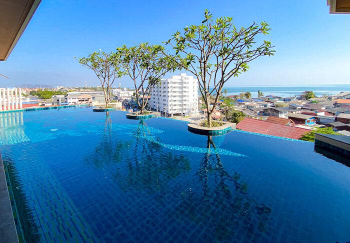 ハイシア ホアヒン ホテル(Hisea Huahin Hotel)のプール2