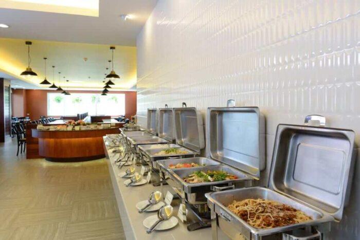 ハイシア ホアヒン ホテル(Hisea Huahin Hotel)の朝食ビュッフェ