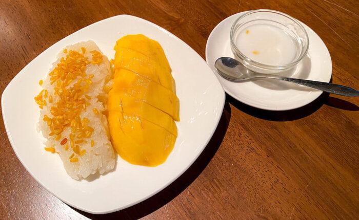 プラウチャイで食べたカオニャオマムアン