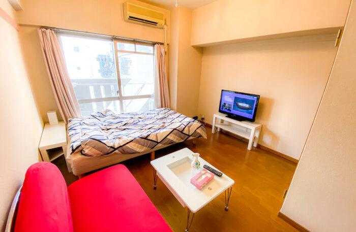 1ルームマンションタイプ個室寮の居室1
