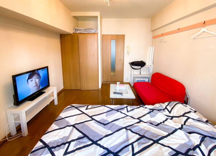 1ルームマンションタイプ個室寮の居室2
