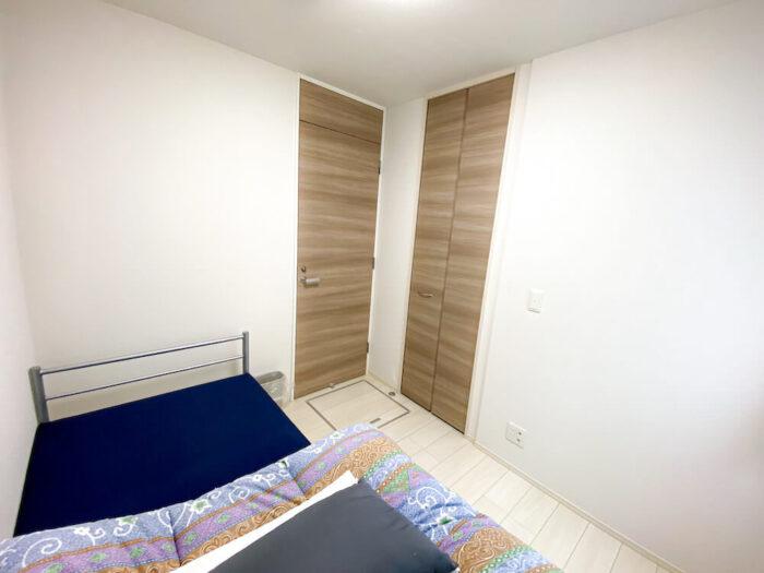 一部共用タイプ個室寮の寝室2