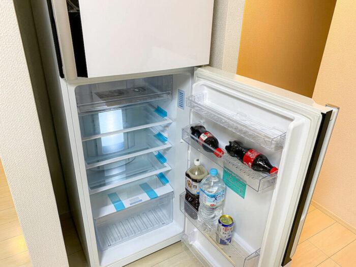 一部共用タイプ個室寮の冷蔵庫