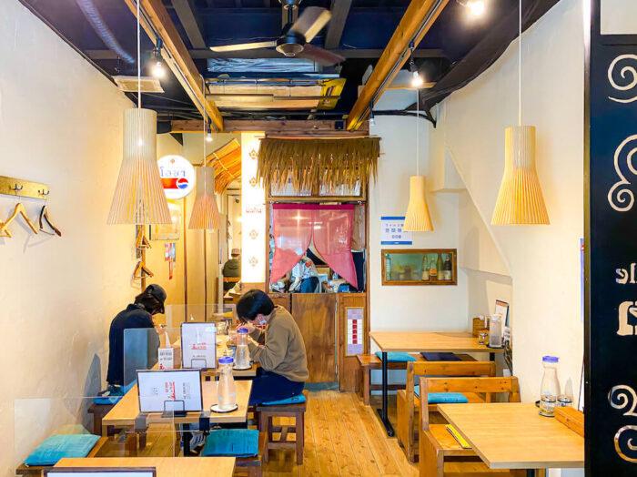 タイ屋台料理 アンド ヌードル オシャの店内2