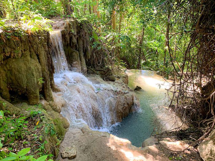 エラワンの滝6段目