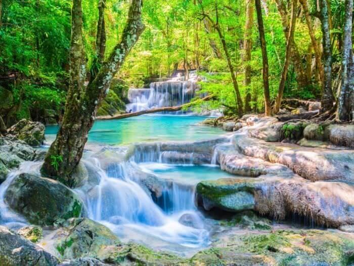 エラワンの滝5段目2