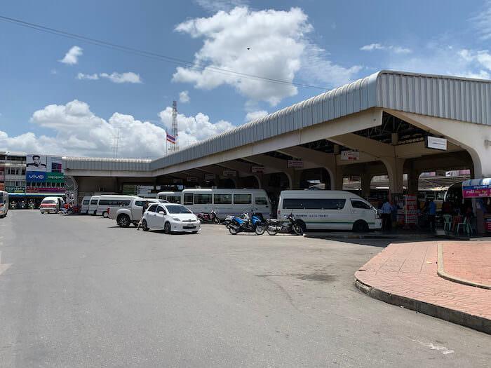 カンチャナブリーバスターミナル