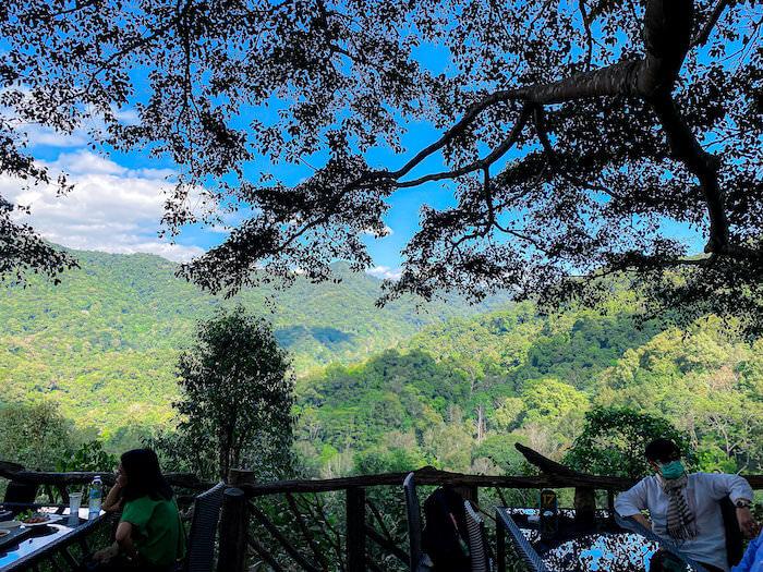 ザ・ジャイアント・チェンマイから見える大自然2