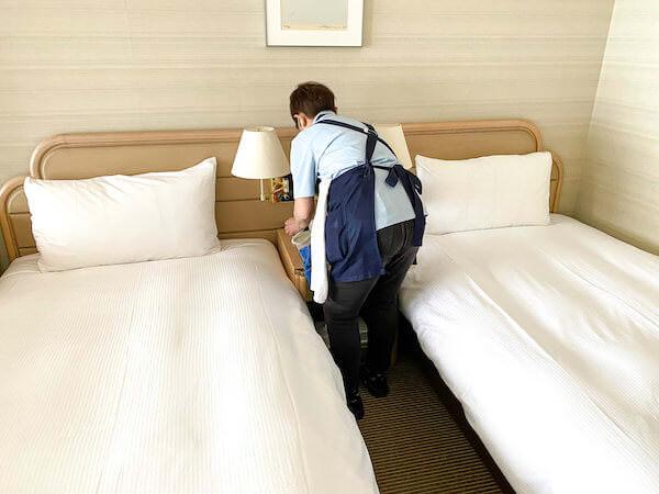 リゾートバイトのホテル清掃スタッフ