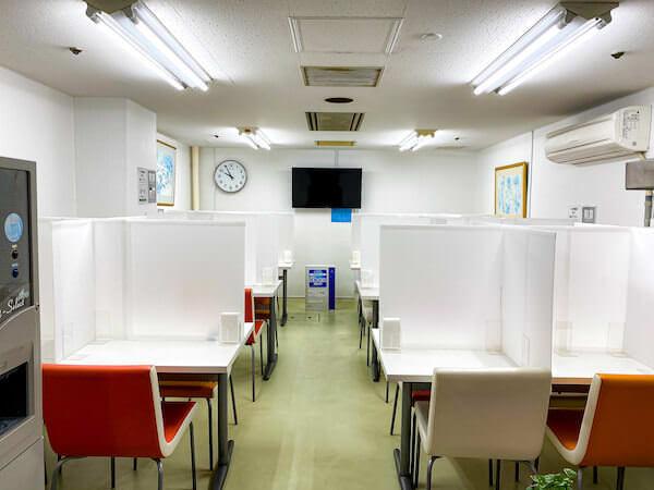 リゾートバイトの社員食堂2