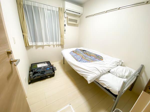 リゾートバイトの個室寮2
