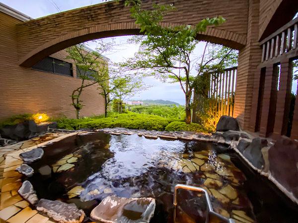 旅館の温泉