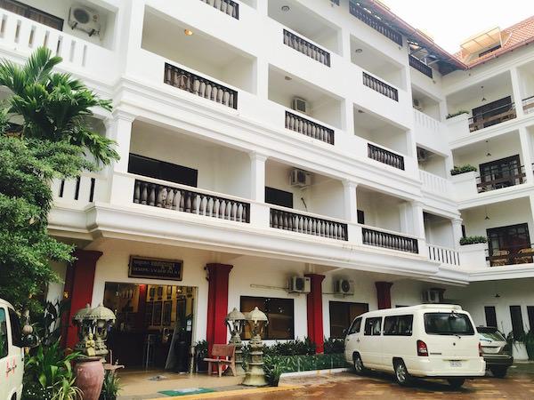 メコンアンコールパレスホテルの外観