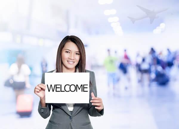 バンコク空港での送迎サービス