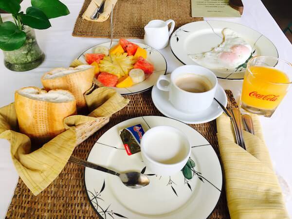 アライアンス ブティック ビラ(Alliance Boutique Villa)の朝食