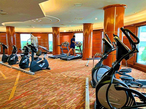 アマリ ドンムアン エアポート バンコクホテル(Amari Don Muang Airport Bangkok Hotel)のフィットネスジム1