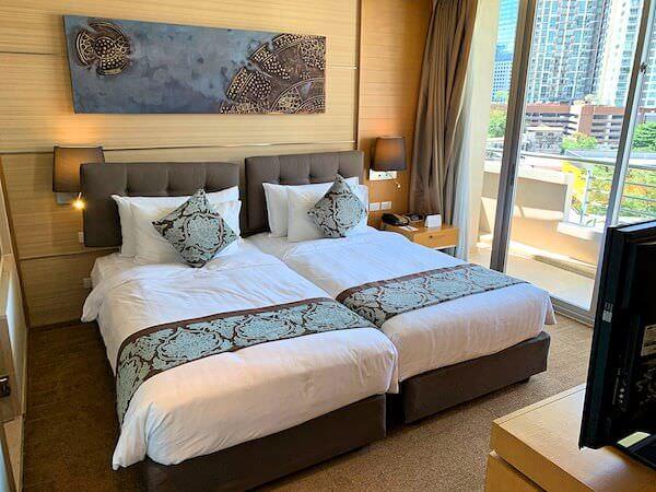 アナンタラ サトーン バンコク ホテル(Anantara Sathorn Bangkok Hotel)のベッドルーム