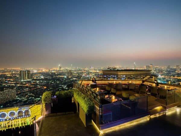 アナンタラ サトーン バンコク ホテル(Anantara Sathorn Bangkok Hotel)のルーフトップバー「ZOOM」2