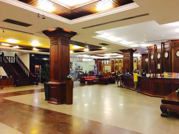 アンコール パラダイス ホテル (Angkor Paradise Hotel)のエントランスロビー