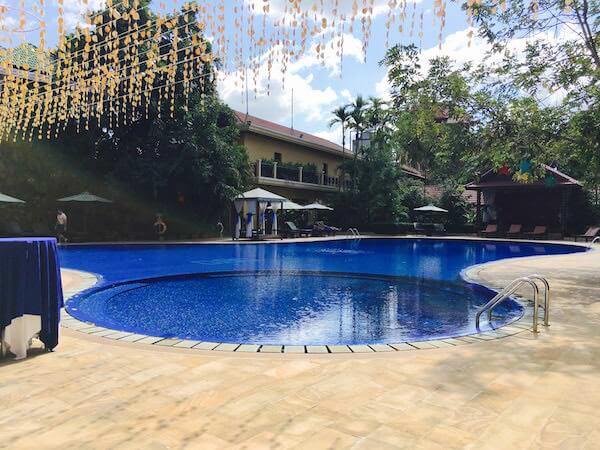 アンコール パラダイス ホテル (Angkor Paradise Hotel)のプール