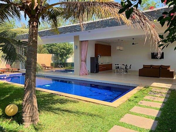 アンコール ランデブー(Angkor Rendezvous)の客室ヴィラ1