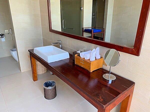 アンコール ランデブー(Angkor Rendezvous)の洗面台