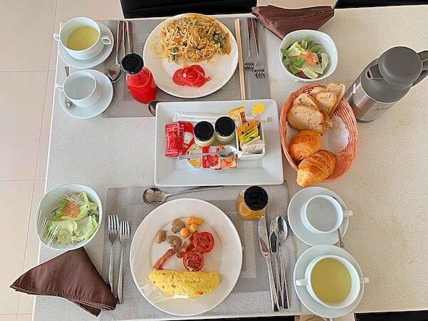 アンコール ランデブー(Angkor Rendezvous)の朝食