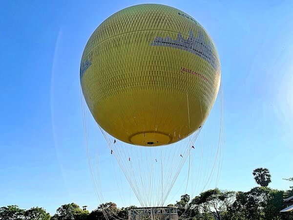 アンコールバルーンの気球