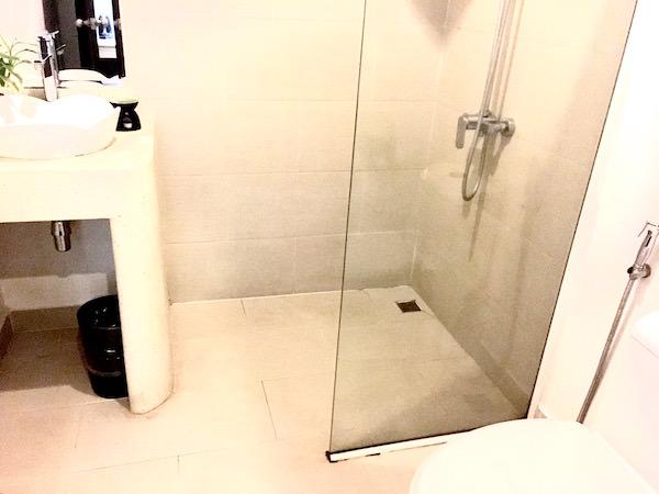 アプサラ セントレポール ホテル(Apsara Centrepole Hotel)のシャワールーム1