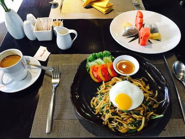 アプサラ レジデンス ホテル (Apsara Residence Hotel)の朝食