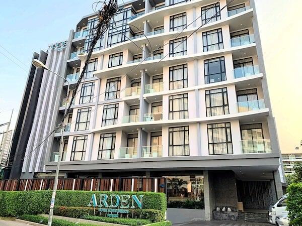 アーデン ホテル アンド レジデンス バイ アット マインド(Arden Hotel and Residence by At Mind)の外観