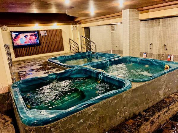 有馬温泉の浴場