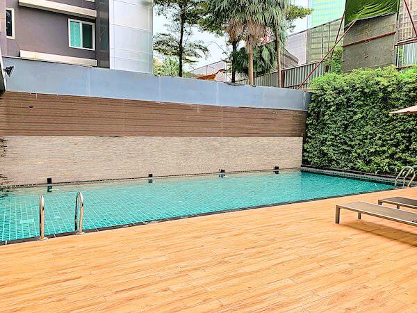アライズホテルスクンビット(Arize Hotel Sukhumvit)のプール