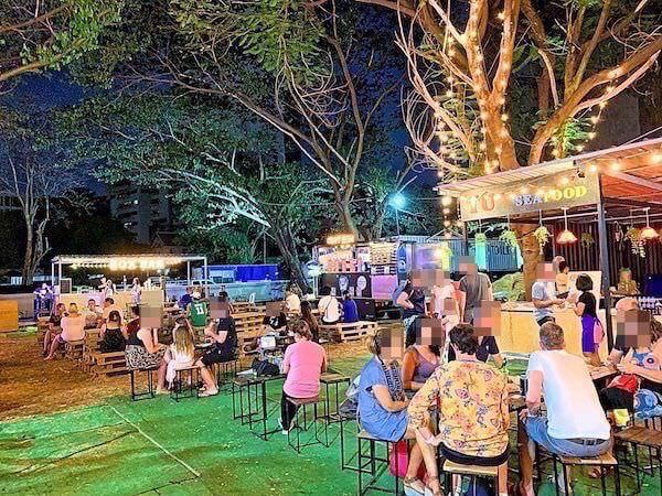 アートボックス バンコク(ArtBox Bangkok)の飲食エリア