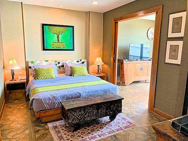 アルン レジデンス(Arun Residence)のベッドルーム