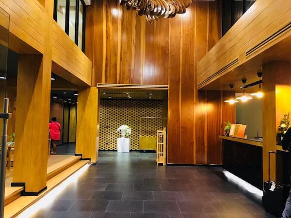 アサナ ホテル&レジデンス(Asana Hotel & Residence)のレセプションロビー1