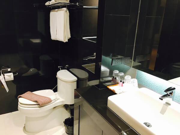 アサナ ホテル&レジデンス(Asana Hotel & Residence)のバスルーム2