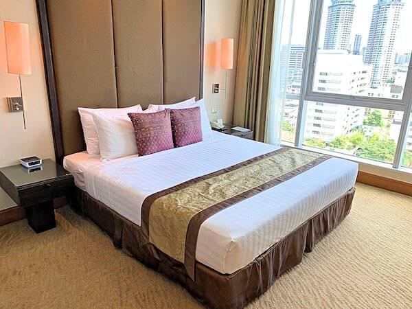 アスコット サトーン バンコク(Ascott Sathorn Bangkok)のベッドルーム