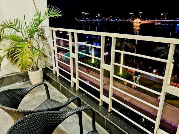 アシバン クウェイ ブティック ホテル(Asiban Quay Boutique Hotel)のバルコニー
