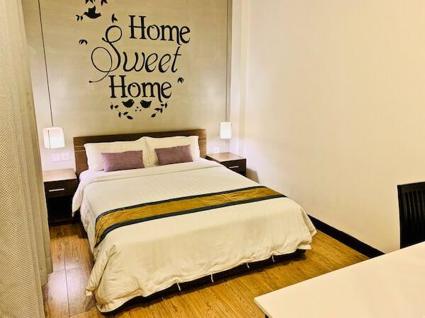 アシバン クウェイ ブティック ホテル(Asiban Quay Boutique Hotel)のベッドルーム
