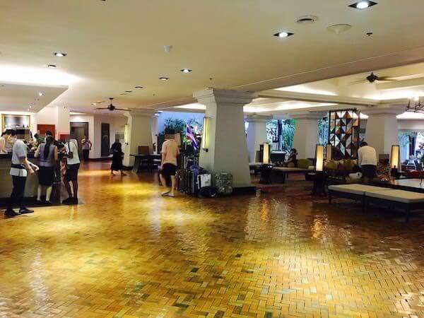 AVANI パタヤ リゾート&スパ (AVANI Pattaya Resort & Spa)のエントランスロビー