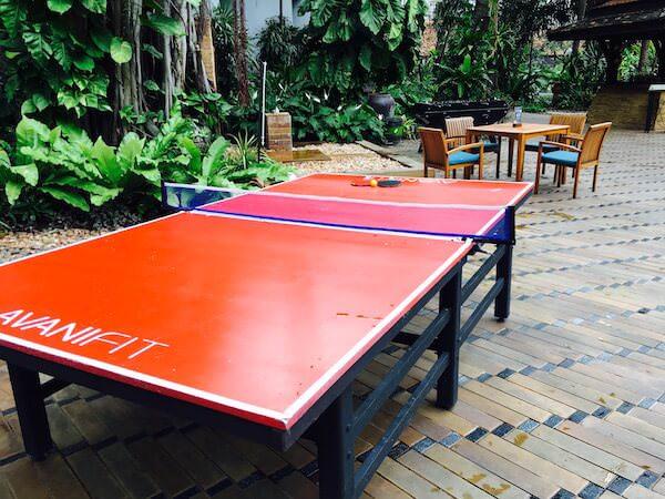 AVANI パタヤ リゾート&スパ (AVANI Pattaya Resort & Spa)にある卓球台