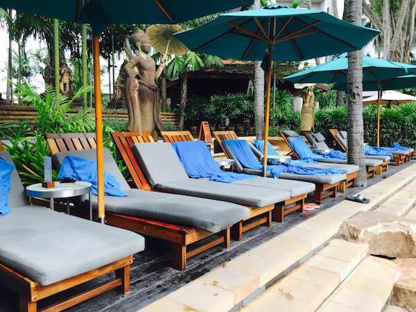 AVANI パタヤ リゾート&スパ (AVANI Pattaya Resort & Spa)のビーチチェアー