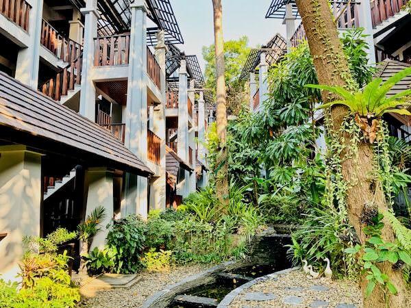 アバンタラ リゾート(Avatara Resort)の中庭