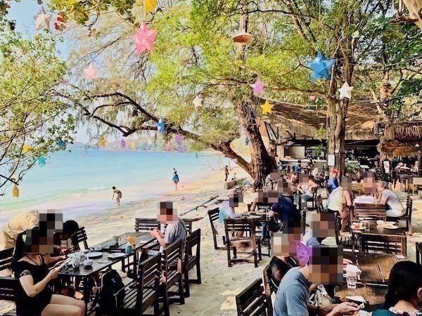 アバンタラ リゾート(Avatara Resort)目の前のビーチ