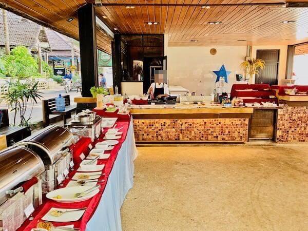 アバンタラ リゾート(Avatara Resort)の朝食会場
