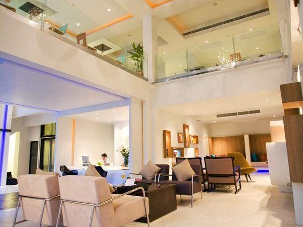 アヤ ブティック ホテル パタヤ (Aya Boutique Hotel Pattaya)のエントランスロビー
