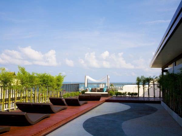 アヤ ブティック ホテル パタヤ (Aya Boutique Hotel Pattaya)の屋上テラス